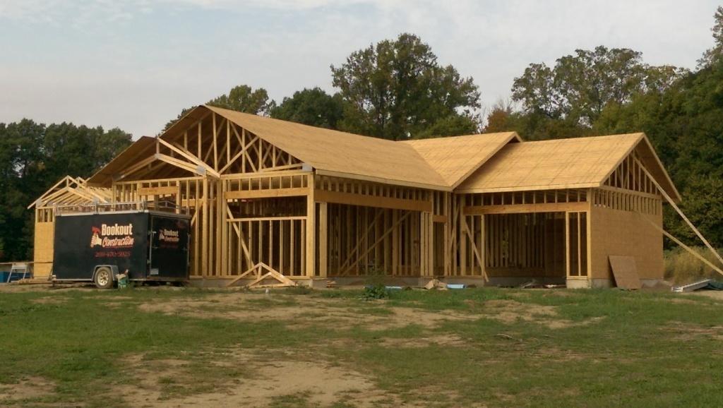 Строительство домов в США