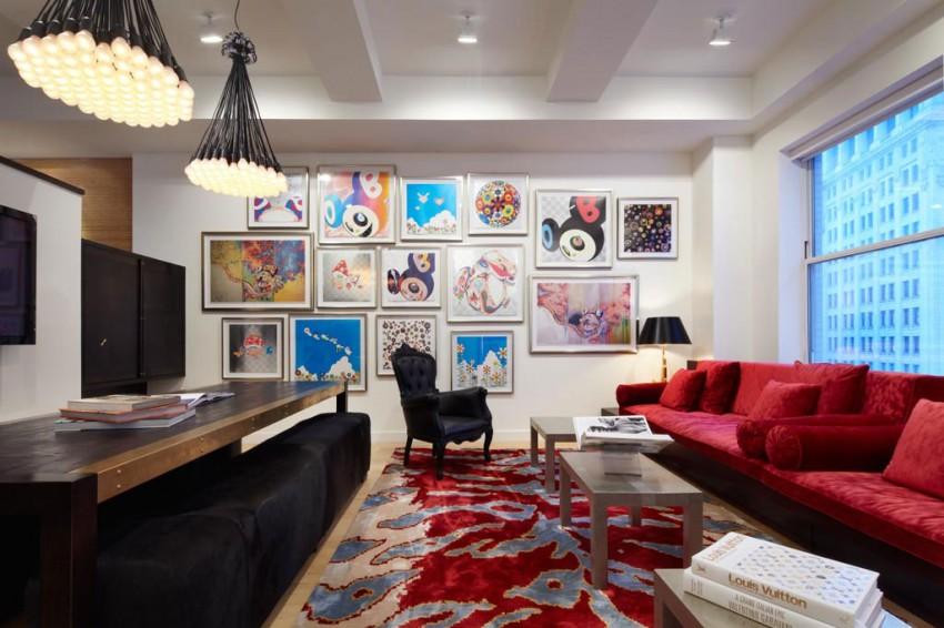 небольшая квартира в Нью-Йорке